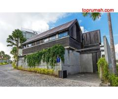 Villa for Rent Made by Ulin Wood in Canggu Bali