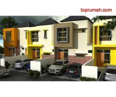 Rumah Baru Lantai 2 di Boundary Garden Tibubeneng Canggu Bali