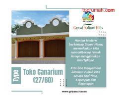 Ruko Type Canarium (27/60) Di Griya Satria Grand Kaliori Hills