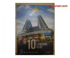 Dijual 2  macam apartemen di Sentul city Bogor dan LRT Sentul. Harga diatasi 1,3m hingga 10 m lokasi