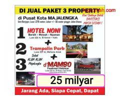 Dijual Paket 3 Property Investasi Masa Depan di Kota Majalengka