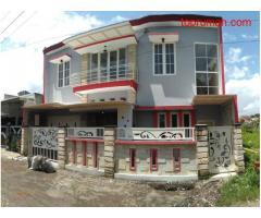 Dijual Rumah Baru 2 Lantai Siap Huni Di Sulfat Selatan Kota Malang