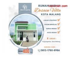 Jual Rumah Murah dekat Brawijaya Daerah Ikan Tombro Kota Malang