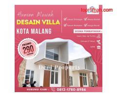 Rumah Villa Dijual Murah dekat Kantor Terpadu di Annisa Kota Malang