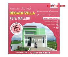 Rumah Dijual Murah di Tombro dekat Kawasan Bisnis Suhat Malang