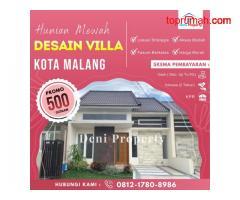 Rumah Dijual Murah di Arumba dekat Kampus Brawijaya Kota Malang