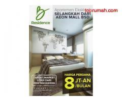 Dijual Apartemen Eksklusif Kawasan BSD Deakat AEON Mall