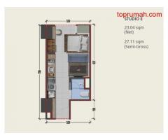 Dijual Apartemen Silk Town | Tower Alexandria Alam Sutra Akses Serpong