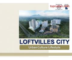 APARTEMEN DISEWAKAN: LOFTVILLE CITY