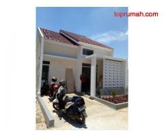 Rumah Cluster KPR Syariah Tanpa Riba 1Lantai Mangifera Residen di Cipayung Pondok Raggon Jalan Gance