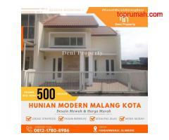 Rumah Villa Modern dekat Kampus Binus di Edelweiss Kota Malang