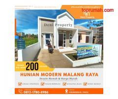 Rumah Villa Murah dekat Exit Tol di Kedungrejo Pakis Malang