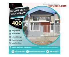 Rumah Mewah Pinggir Jalan dekat Kampus UB di Ragali Malang