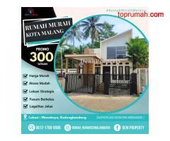 Rumah Mewah dekat Dispenduk di Permata Annisa Kota Malang