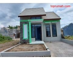 Rumah Murah Pinggir Jalan Raya di Garuda dekat Dispenduk