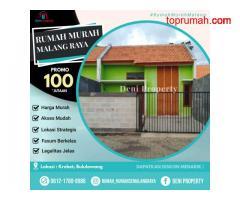 Rumah Subsidi Konsep Villa di Krebet Bululawang