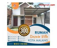 Rumah Modern dekat Kampus Poltekom di Sekarsari Kota Malang