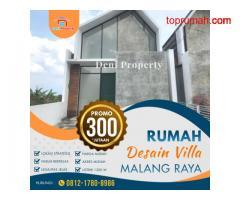 Rumah Mewah dekat Kampus UMM Tana Aliya Landungsari Dau