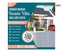 Promo Rumah Murah Pinggir Jalan di Khayra Tumpang Malang