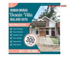 Rumah Modern di Permata Sekarsari dekat SMA Nala Malang