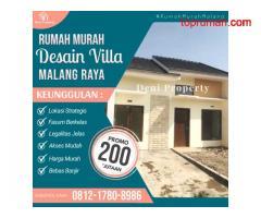 Rumah Murah 200 jutaan Program Twp di Griya Tama Pakis Malang