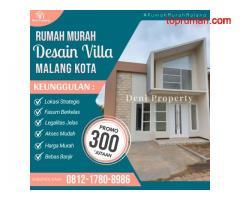 Rumah dekat Islamic Center Kota Malang di Permata Annisa
