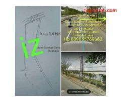 Lahan industri raya Osowilangun Surabaya