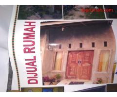 Dijual rumah ukuran 17*7 m di daerah batang kuis dengan harga 120 jt bisa nego