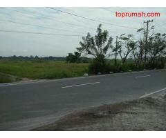 Tanah jual di pinggir jalan pakam
