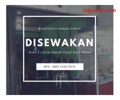 Ruko 2 Lantai di Pusat Kota Medan