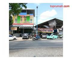Jual cepat Ruko 2 pintu 3 lantai Jl. Raya Besar Benua Anyar Pangeran Hidatulah No. 01 Rt. 23 Rw. 02