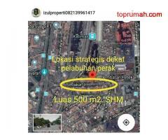 Jual tanah raya perak timur Surabaya kota pelabuhan