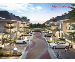 Hunian Modern design cluster di dekat Halim