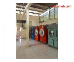 Properti Komersil Bisnis Laundry Besar Sudah Berjalan 8thn.