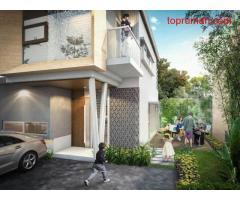 Rumah cluster design modern bebas banjir dan lokasi strategis di dekat Halim