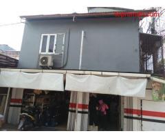 Warung sembako + rumah