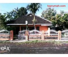 Rumah & Tanah Dijula Dipinggir Jl Kabupaten