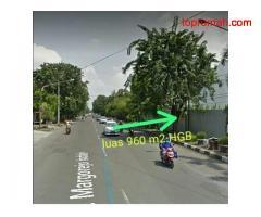Jual Tanah Raya Margorejo Surabaya