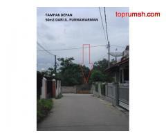 Jual Tanah Jalan SWADAYA di Jl Purnawarman daerah Cirendeu Raya