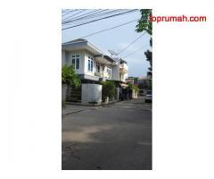 Rumah Hoek Sunter 2 Lantai, 165m 3+1 KT, Taman (Paradise tahap 1)