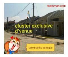 Dijual Rumah baru murah, ready stock dp hanya 10% di cluster d'venue