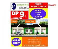 Babakan Asri Residence DP9Jt Hadiah Langsung UMROH