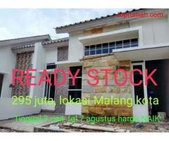 Rumah siap huni termurah di Kota Malang