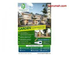 Eksklusif townhouse dengan sertifikat Hak milik dan bebas banjir di dekat Halim Jakarta Timur