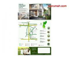 Eksklusif townhouse asri dan nyaman lokasi strategis bebas banjir di dekat Mall Taman Mini