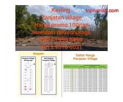 Investasi Terbaik Panjatan Village, DISKON 25%, Pilihan 63 Lokasi