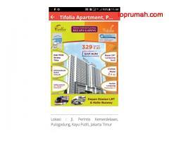 Apartment siap huni di Timur Jakarta