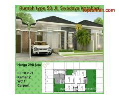 Rumah type 50 Jl. Swadaya Kotabaru
