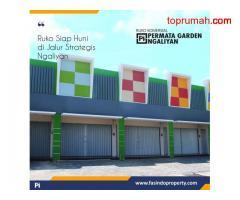Ruko Strategis, Permata Garden Ngaliyan, Semarang