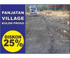 TANAH DIJUAL : Diskon 25% luas tanah 170/meter